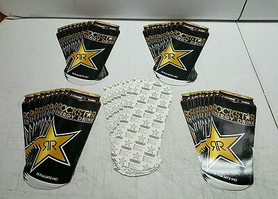 "Rockstar Energy Decals! 5"" x 12"" Authentic! Brand New! 48 Pcs 5☆Item's!"