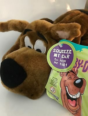 Scooby-Doo Talking Hug Me Plush 2 Ft. Long New With Tags 2002