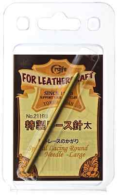 Craft Sha round lacing needle to suit 3mm lace