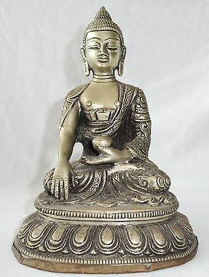 20CT Nepalese Silver seated Buddha (Je)