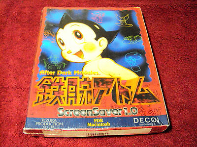 Astroboy / Tetsuwan Atom Macintosh HD Screen Saver (DECOI, Made in Japan)