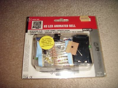 Velleman Christmas Bell Electronic Kit - 83 LED Animated Bell