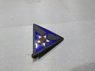WWII VINTAGE 12th USAAC USAAF US Army Air Corps Force Sweetheart Pin