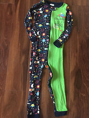 boys THE CHILDREN'S PLACE STRETCHIE footless sleeper PAJAMAS grandpa size 4T