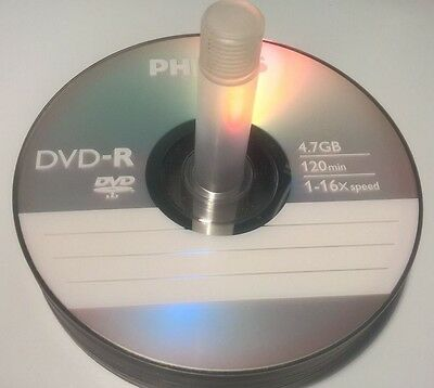 Lot de 5 DVD-R 16x 4,7 Go