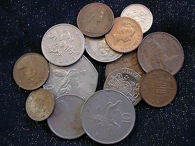 Great Britain UK lot of  14 Coins