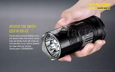 Nitecore Tiny Monster tM06S - 4000 LM Poche Lampe torche NEUF Chasse Tactique