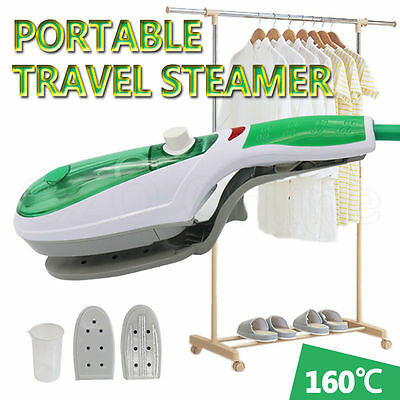 Travel Portable Handheld Iron Clothes Steamer Garment Steam Brush Hand Held New