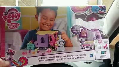 My Little Pony Friendship is Magic Explore Equestria Express Train Playset Girls