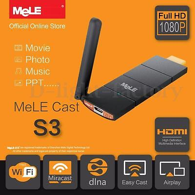 MeLE EZcast Airplay/Miracast/DLNA Wifi Display Receiver 1080P HDMI HD TV Dongle