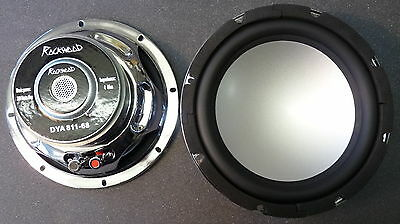 "Rockwood DYA-811 20cm 8"" Bass Speaker 200mm Subwoofer 4Ohm Aluminum membrane"