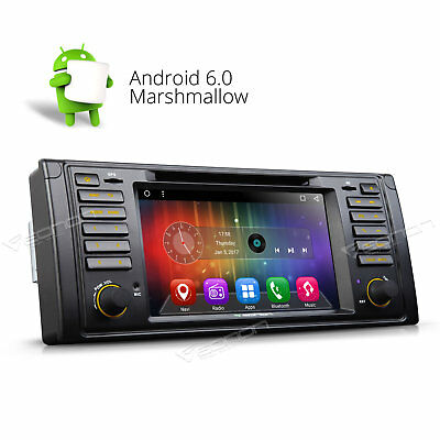 "1024x600HD Android 5.1 7"" Car Stereo DVD Player GPS Navigation for BMW E39 M5 E"