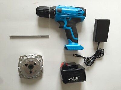 Electric drill with Aluminum Roto Starter Set for 1/5 HPI RV KM BAJA 5B 5T 5SC