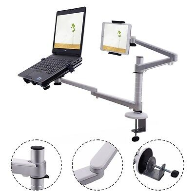 Laptop Stand 360° Rotating Adjustable Tablets Desk Mount For iPad 1 2 3 Air Mini