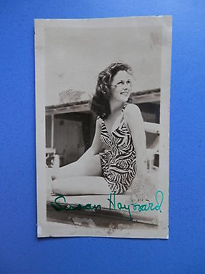 Susan Hayward - Actress 'I Want To Live' - Early Signed Autographed Photo