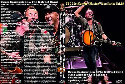 Bruce Springsteen. 2014. Charlotte. U.s.a. Awesome Pro-Shot.  3 Dvd.