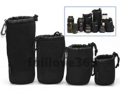 Matin Neoprene waterproof Soft Camera Lens Pouch bag Case Size- S M L XL KS