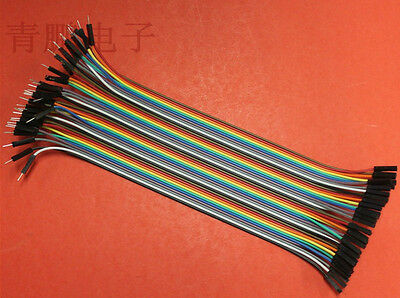 Rainbow cable dupont wire jump wire Male to Female for Raspberry Pi  40P 20cm