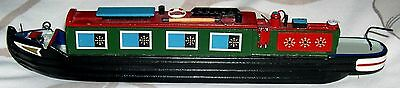 Attractive Hand Made Model Canal Narrow Boat