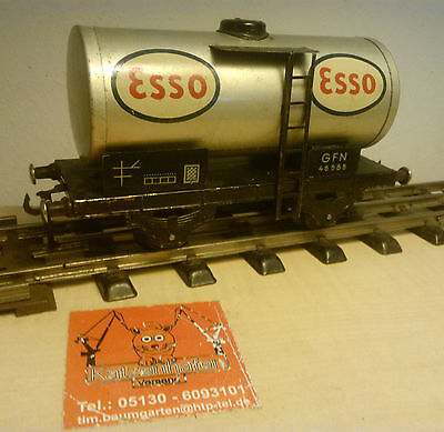 FLEISCHMANN GFN 46585 Kesselwagen Esso Spur 0 made in US Zone of Germany