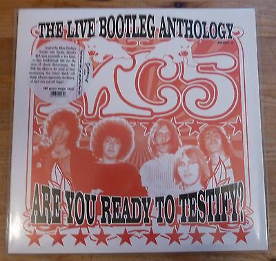 MC5 Are You Ready To Testify? Kick Out The Jams Proto Punk/Garage Rock STOOGES