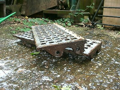 Vintage Industrial Cast Iron Stair Treads