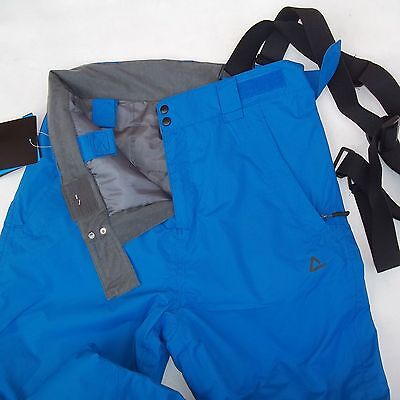 "Dare2B Divedown Pants Mens L 36""w Ski Snowboard Snow Trousers Salopettes Blue"