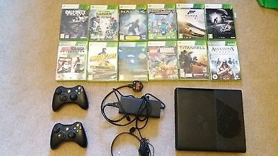 Xbox 360 games console and games bundle