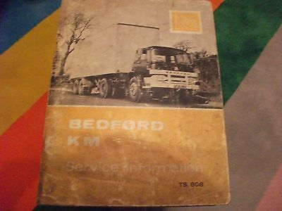 Bedford km  service infomation book