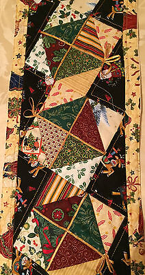 CHRISTMAS TABLE Runner Pre cut FABRIC KIT and PATTERN MAKE YOURSELf