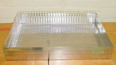 100 x High Grade Stainless Steel Ampoule Trays