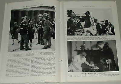 1943 magazine article, Scotland In Wartime, WWII, people, history