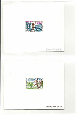 Afars and Issas,1967,soccer,football,deluxe proofs,MNH,Sc 315-316,Mi 7-8