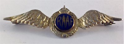 Military Badge-WW11 RAAF Winged Badge-Australian?