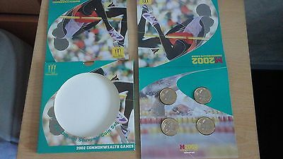 the royal mint 2002 uncirculated  commonwealth coin set