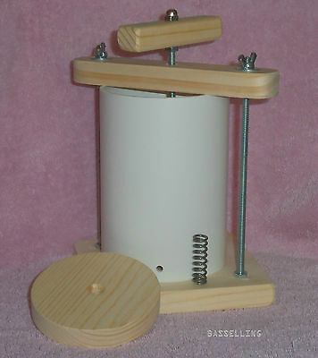 "Classic 4"" Spring Assisted Cheese Press"