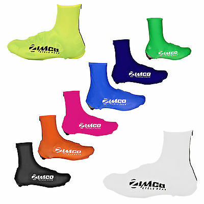 Zimco Lycra Cycling Bicycle Shoe Cover Booties Overshoes with Rear Zipper
