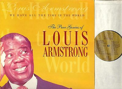 LOUIS ARMSTRONG we have all the time in the world LP EX/EX- EMTV 89 uk emi 1994