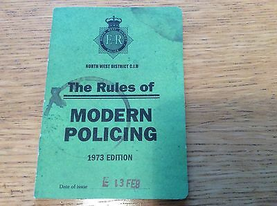 Life On Mars - The Rules of Modern Policing by DCI Gene Hunt booklet