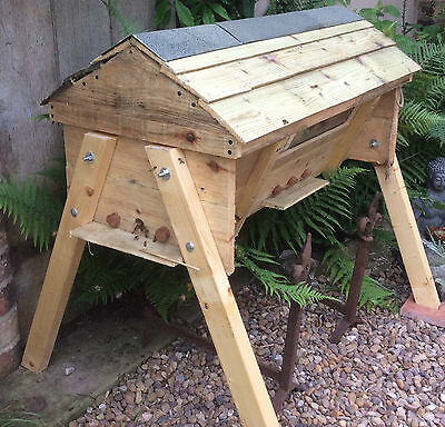 Bespoke Hand Crafted Top Bar Beehive Complete With Pitched Roof / Lid