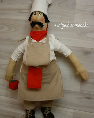 Cook Indoor scented toy handmade unique one of a kind free shipping
