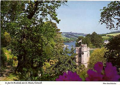 St Just in Roseland - near St Mawes - Cornwall - Postcard