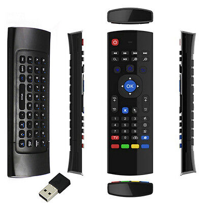 New 2.4G Wireless Remote Control Keyboard Air Mouse For XBMC Android TV Box DE