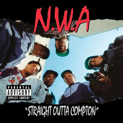 Nwa Straight Outta Compton New Sealed 180G Vinyl Lp Reissue & Download In Stock