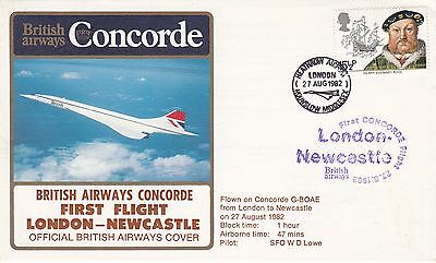 Flown BA Concorde First flight London - Newcastle on Concorde G - BOAE