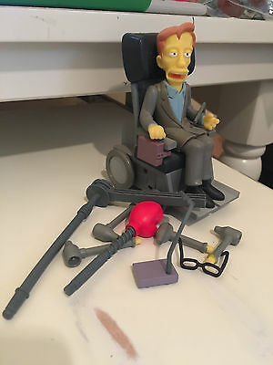 STEPHEN HAWKING  FIGURE The Simpsons Loose Complete World of Springfield