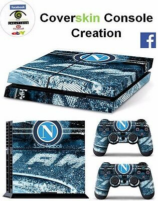 SKIN PS4 NAPOLI ULTRAS Console COVER PS4 Decal Skin LIMITED EDITION + CONTROLLER