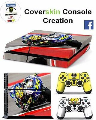 SKIN PS4 ROSSI 46 Console COVER Protective Skin Sticker controllers CONSOLE