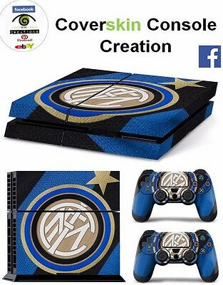 SKIN PS4 INTER Console COVER PS4 Decal Skin LIMITED EDITION + CONTROLLERS