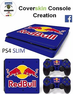 SKIN PS4 SLIM Console COVER Skin LIMITED EDITION Sticker controllers CONSOLE